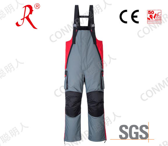 Winter Quilted Sea Fishing Bib Pants (QF-9077B)