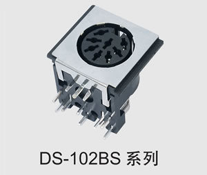 3-8 Pin DIN Connector/Ds Terminal (DS-102BS)