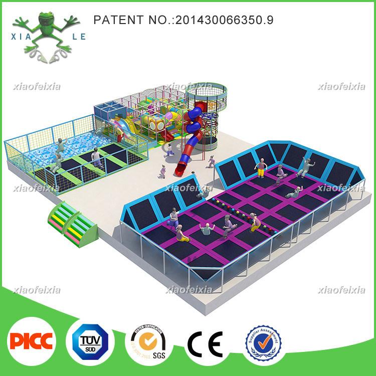 Xiaofeixia Amazing Design Huge Indoor Trampoline Park for Children