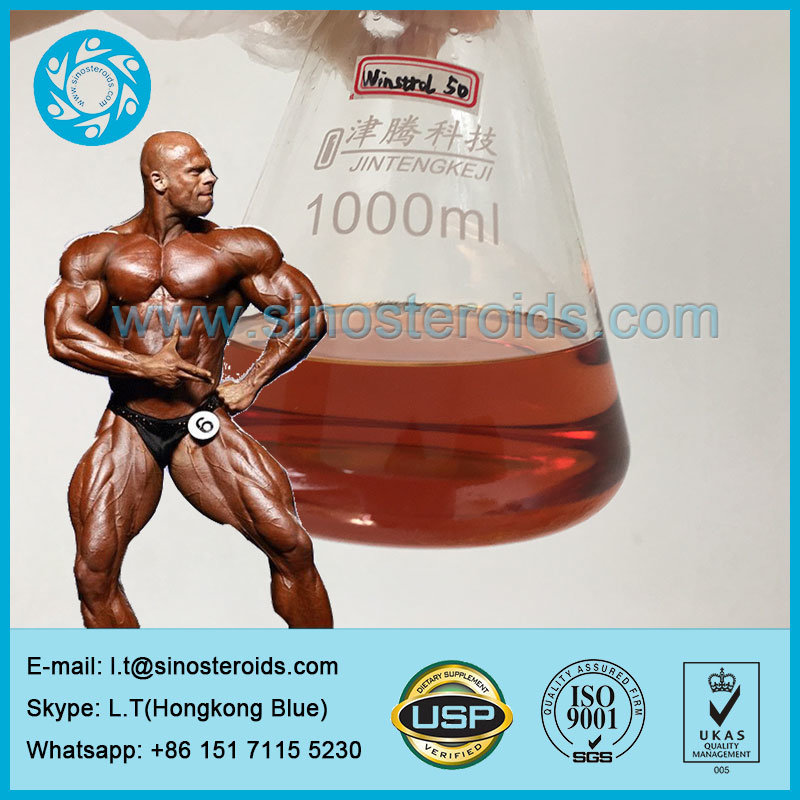 Anabolic Bodybuilding Steroid Injection Winstrol 50 Mg for Muscle Growth