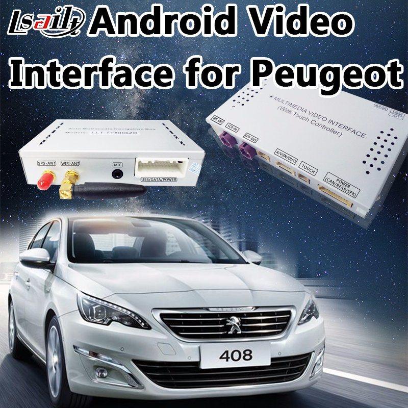 Android Navigation Video Interface for Peugeot 208/2008/3008/408/508 (MNR) WiFi/Mirrorlink/AV Output