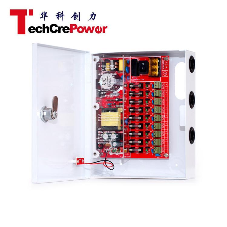 ATP1205-09c DC15V 5A/ 60W CCTV Power Supply