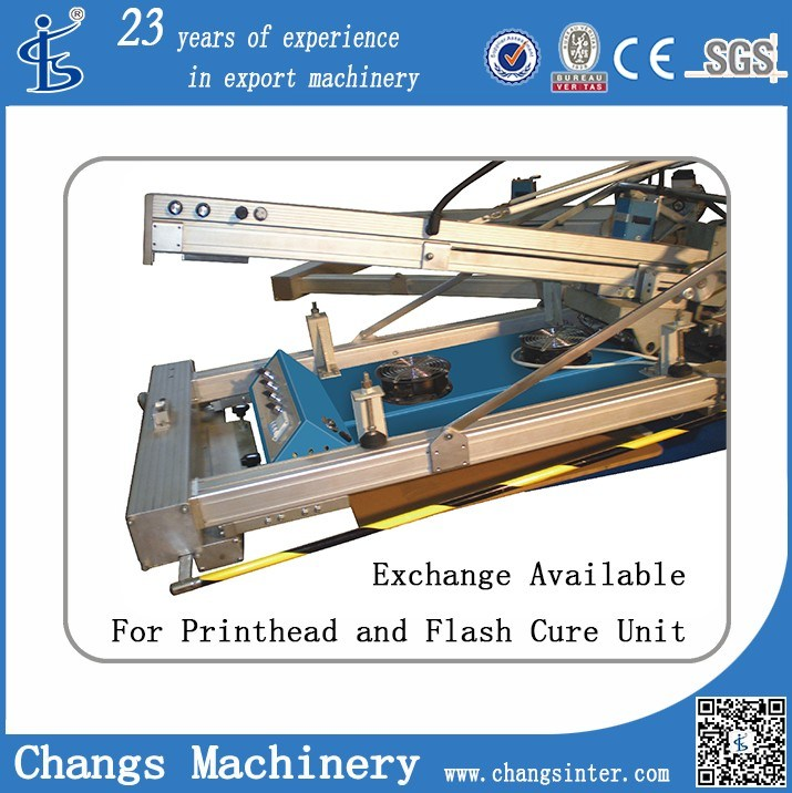 Automatic Rotary/Carousel Screen Printing Machine for T-Shirt/Garment/Textile/Fabric/Non-Wovwoven/Leather/ Cardboard/PP, PVC, Pet Sheet (serigrafia)