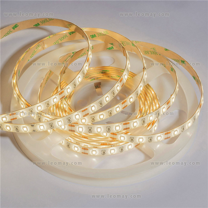 Waterproof DC12V SMD2835 Flexible Strips LED with UL CE RoHS