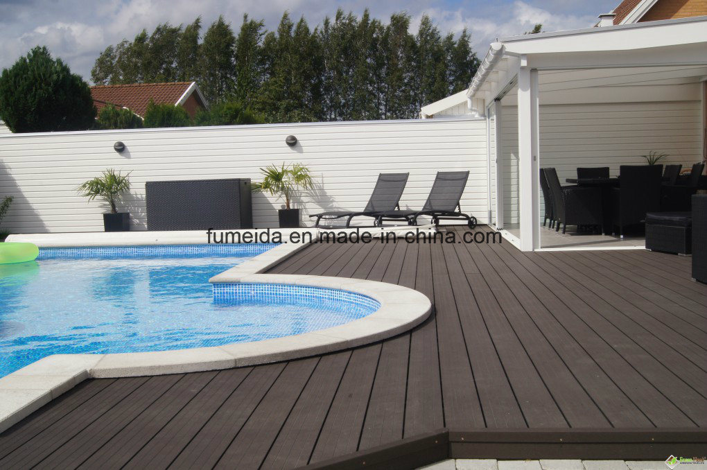 Hot Sale Environmental Garden Outdoor WPC Decking (140 * 25mm)