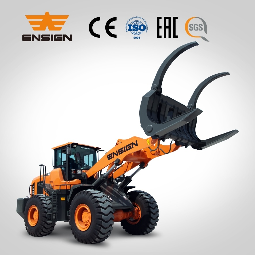 Ensign Brand New 5 Ton Wheel Loader Yx655 with Ce, Eac, ISO, SGS Certificate