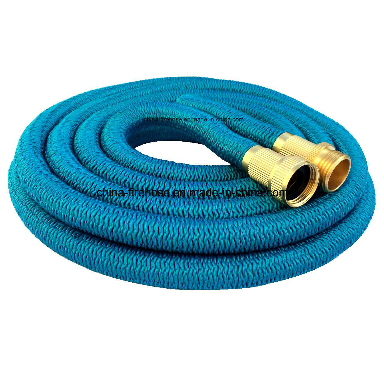 50FT Upgrade Garden Hose Europe Ribbon Telescopic Water Pipe Thread Telescopic Pipes Washing The Garden.