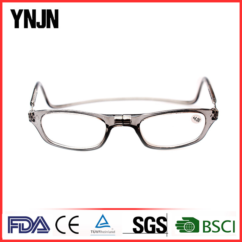 Promotional Unisex Portable Click Magnetic Reading Glasses (YJ-RM001)