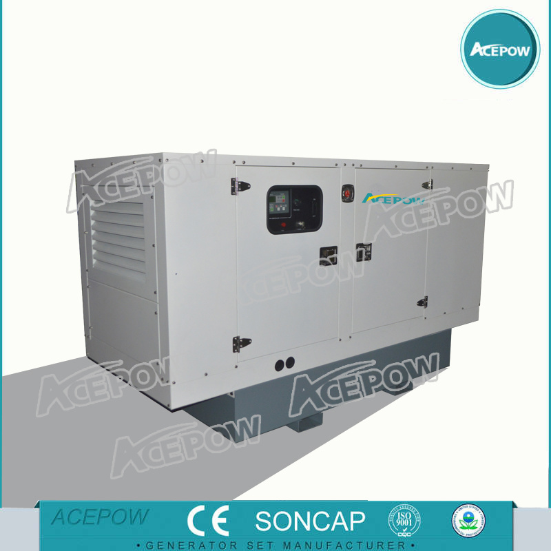 Factory 150kVA Soundproof Diesel Generator Powered by Cummins