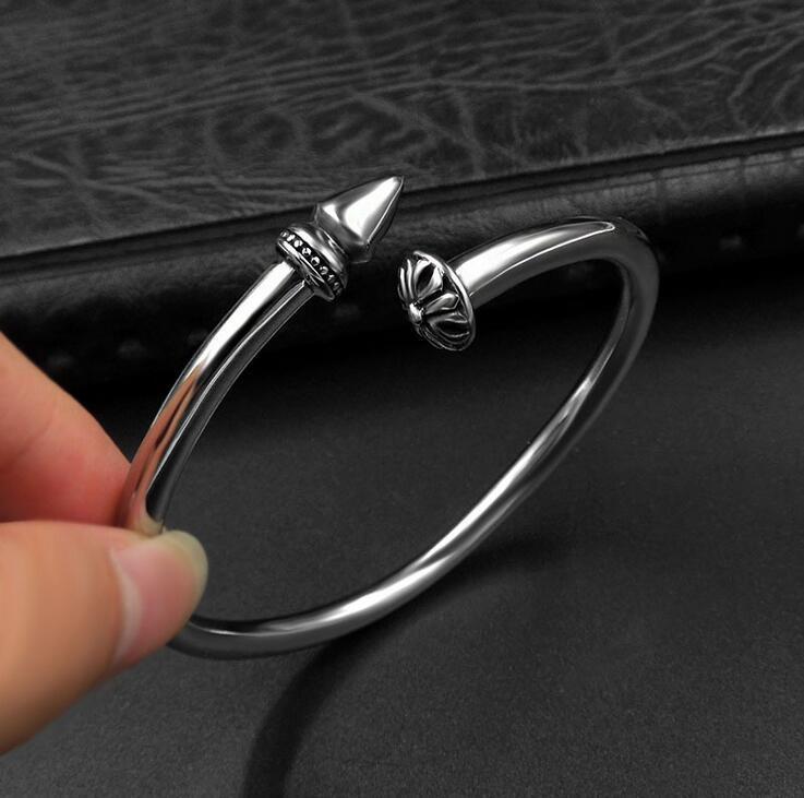 Spike Men Bracelets 316L Stainless Steel Cuff Bangles Fashion Jewellery