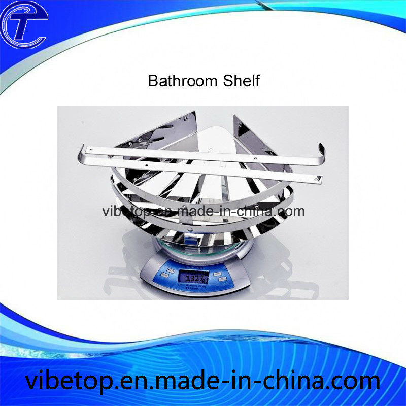Wholesale Export Wall Mount Stainless Steel Bathroom Triangle Shelf