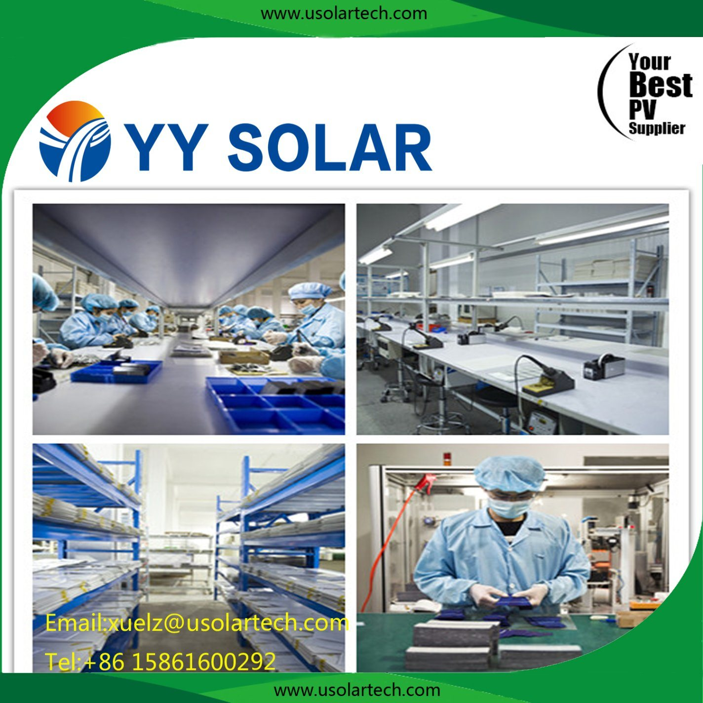 Top Supplier High Efficiency Solar Panel 100W 150W 250W 300W