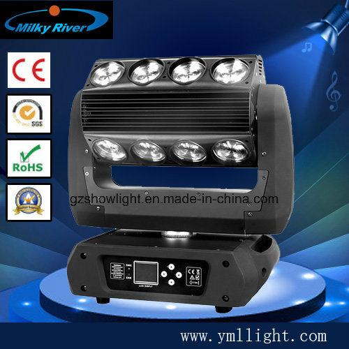 Ce RoHS Standard 16PCS 25W Endless Roller 4 in 1 RGBW Party Spot Spider Sharpy Beam LED DJ Bar Light Phantom Moving Head Light