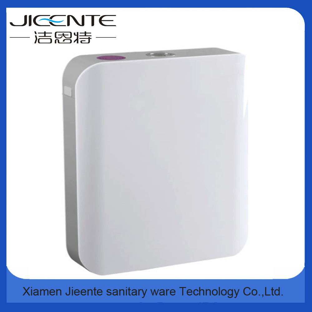 Jet-107 Dual Flush Wall Mounted Custom Color Plastic Toilet Cistern