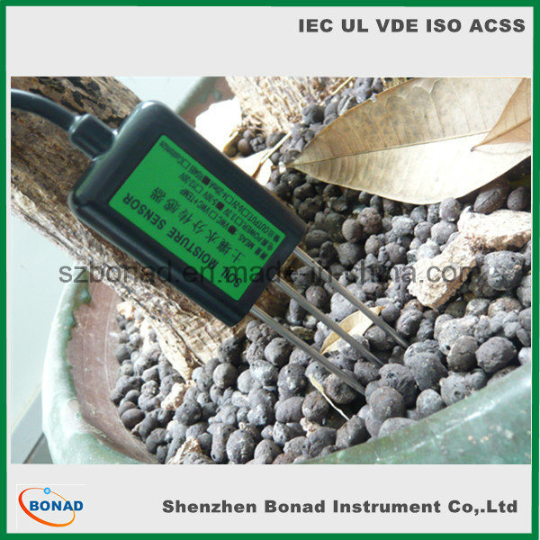 (4-20mA/ 0-2V) RS485 Modbus Soil Temperature Moisture Sensor