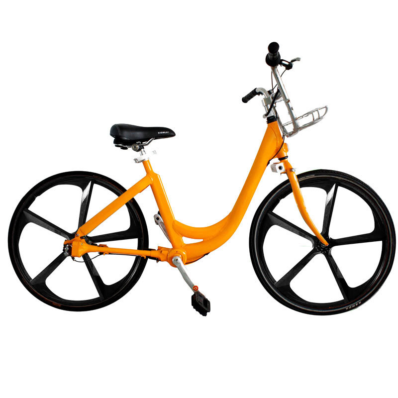 2016 New No Maintenance Cost Self Service Urban Public Bike Sharing System with Shaft Drive No Chain Bicycles for Rental Sale