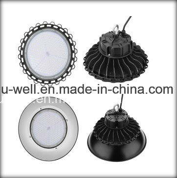 Industrial UFO Highbay Lamp Lighting Waterproof 130lm/W Sensor Dimmable 240W 200W 100W 150W LED High Bay Light