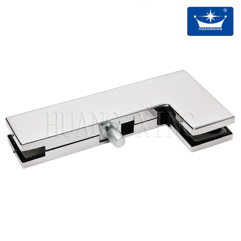 """""""L"""" Aluminum Patch Fitting for Glass Door"""
