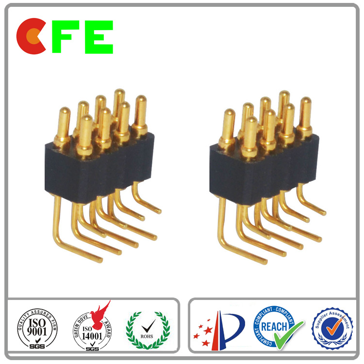 8pin Spring Loaded Pogo Pin Connector