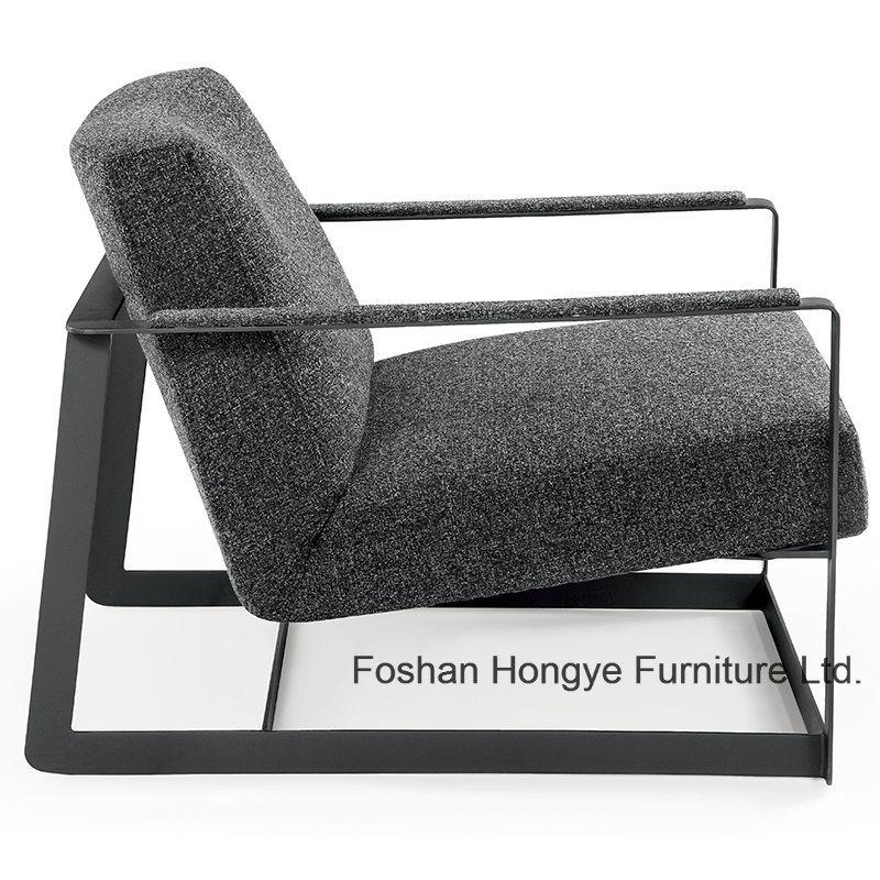 Metal Arm Chair Modern Living Room Furniture (KR01)