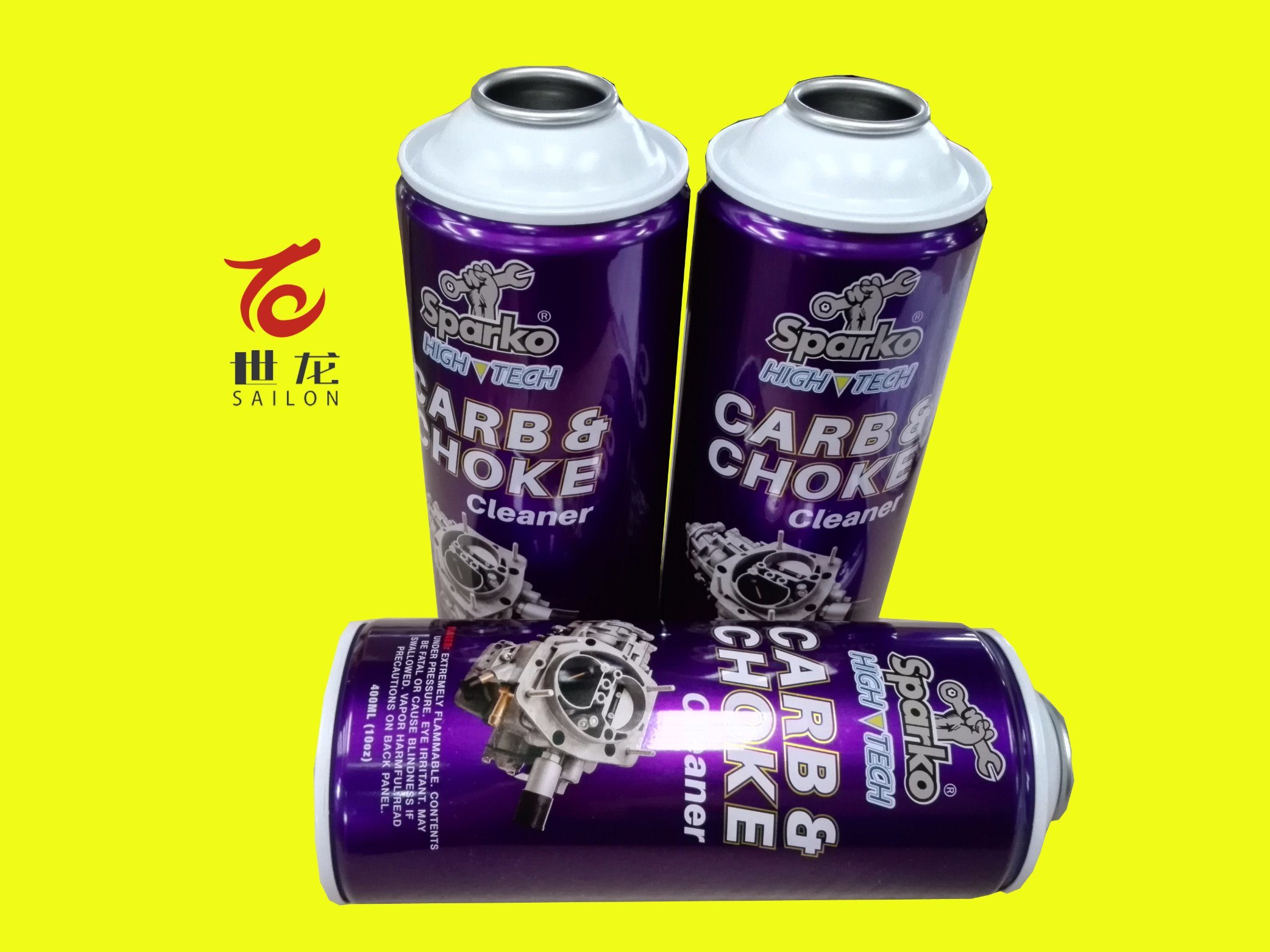 Aerosol Cans with Cmyk Printing