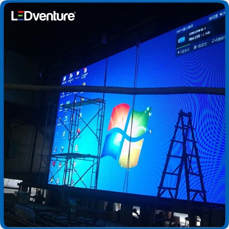 pH7.62 Full Color Indoor LED Panel for Advertising