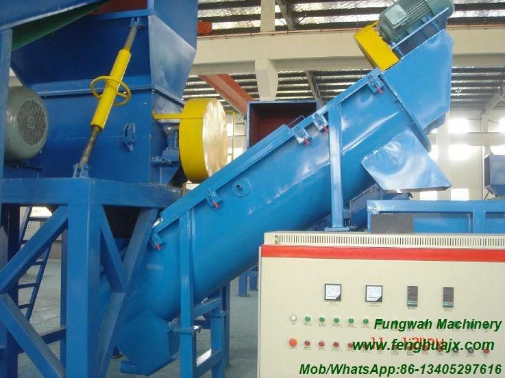 High Efficiency and Energy-Saving PP PE Plastic Film Crushing Washing Recycling Line