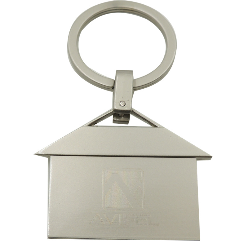 Newest Die Casting Zinc Alloy Blank Key Chains