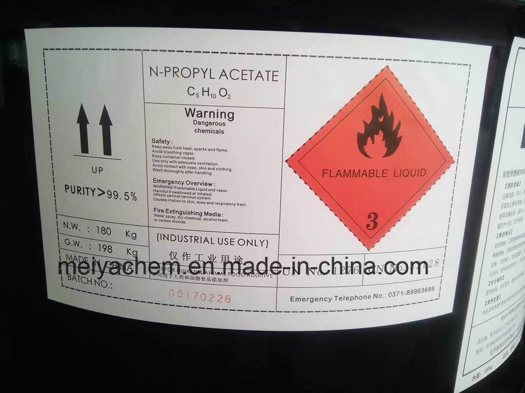 Chemical Solvent N-Propyl Acetate (NPAC)