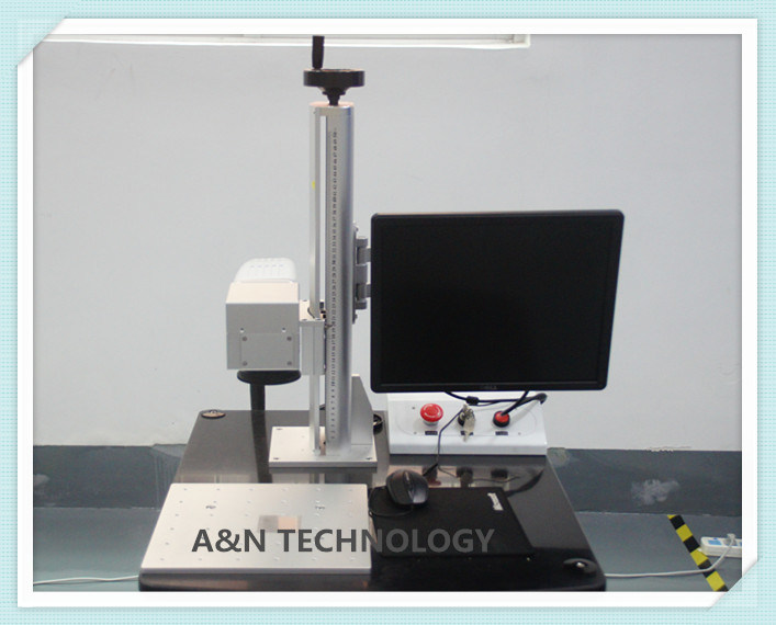 A&N 70W IPG Optical Fiber Laser Engraving Machine for metal