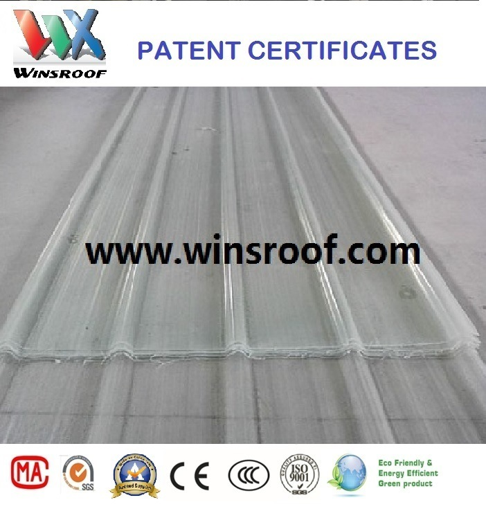 Wins Plastic Roof Tile for Big Project