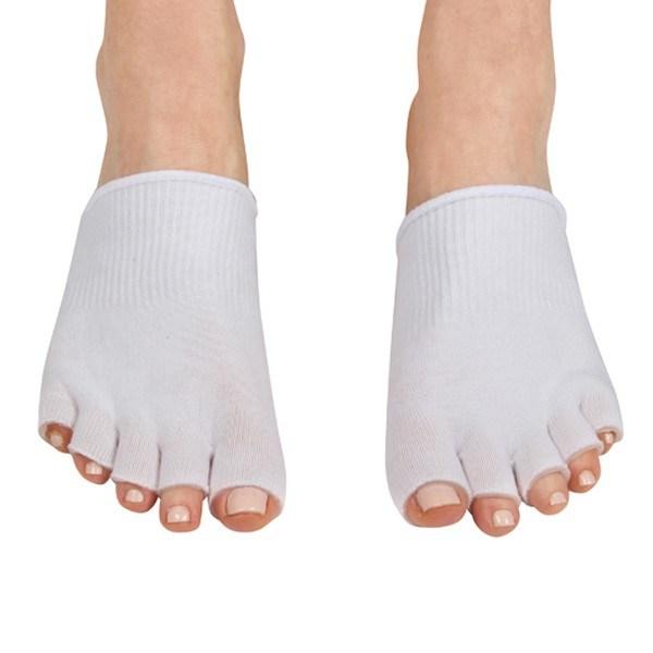 Therapeutic Gel Toes Exfoliating Scrub Toe Socks