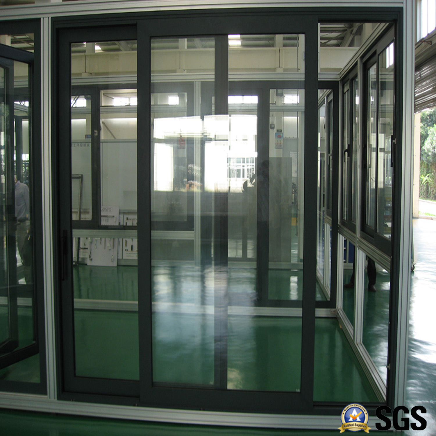 High Quality Thermal Break Aluminium Profile Frame Sliding Door, Aluminum  Window, Aluminium Window,