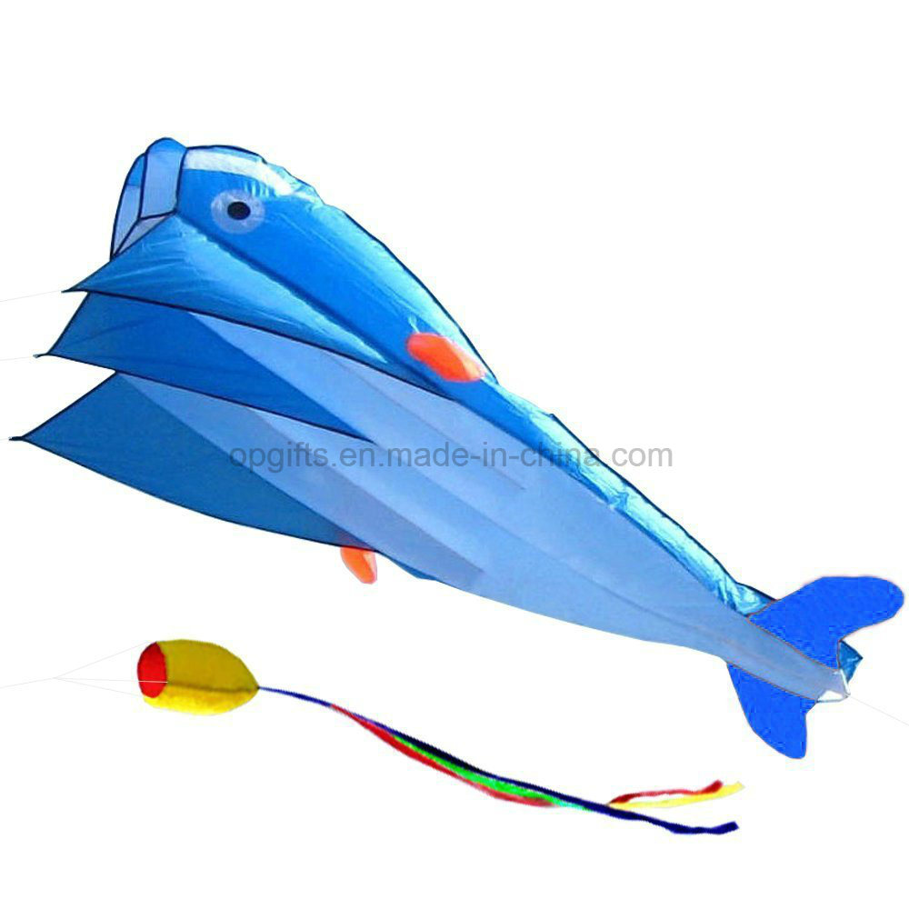 Fashion Dolphins Children′s Cartoon Software Kite