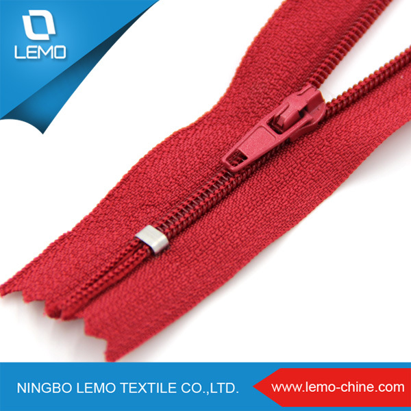 High Quality Large Plastic Zipper Nylon for Jacket