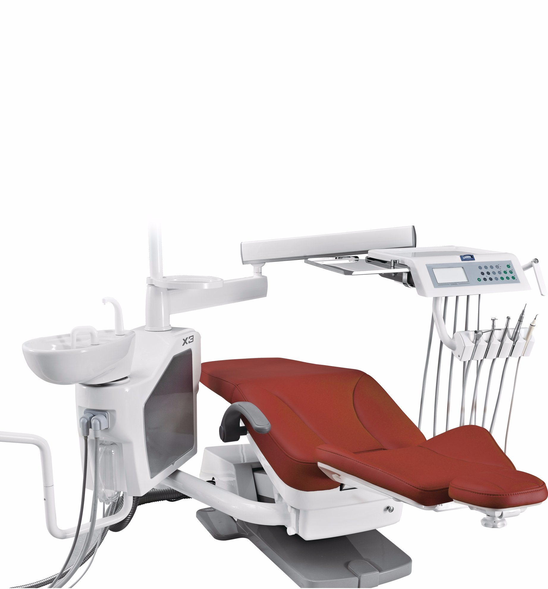 X3+ Dental Unit with Hot Water in Handpiece Tubing