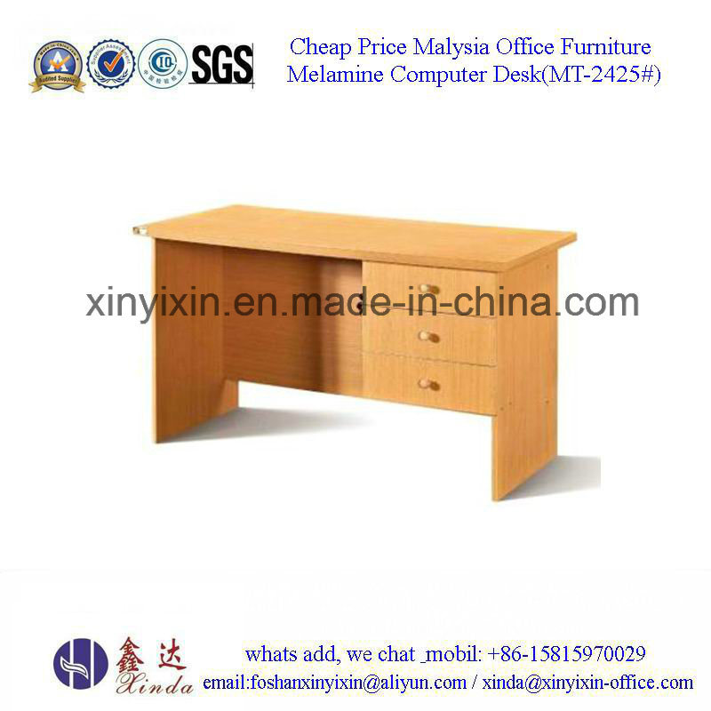 Malaysia Wooden Furniture Low Price Office Computer Desk (MT-2426#)