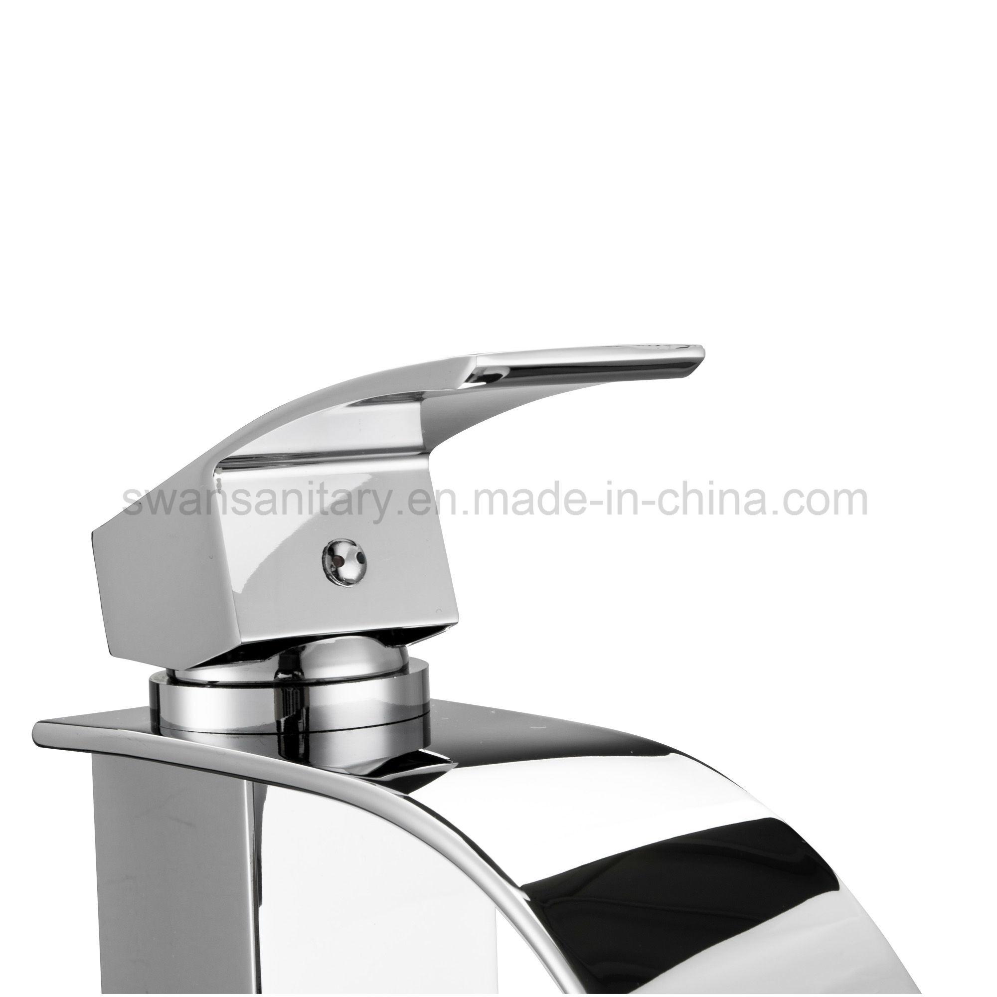 Kaen Wide Spout Waterfall Basin Faucet