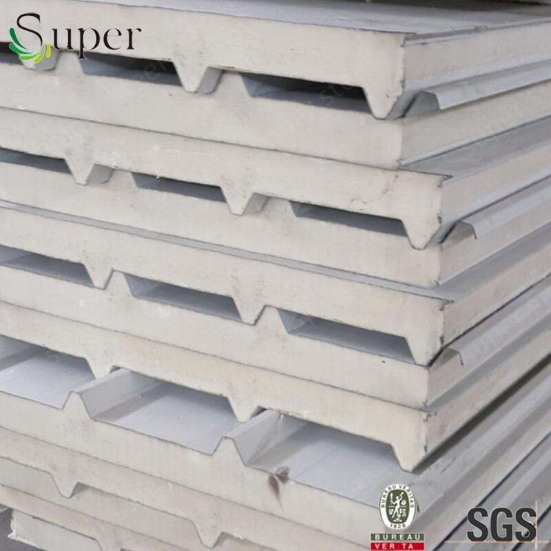 Prepainted Galvanized Steel PU Sandwich Wall Panel