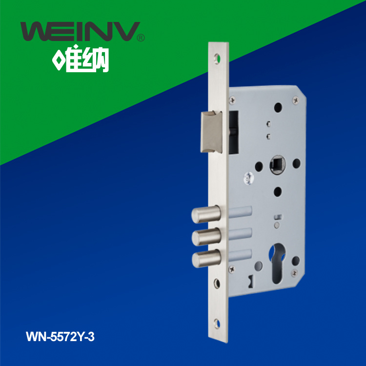 Stainless Steel Mortise Lock Body 5572