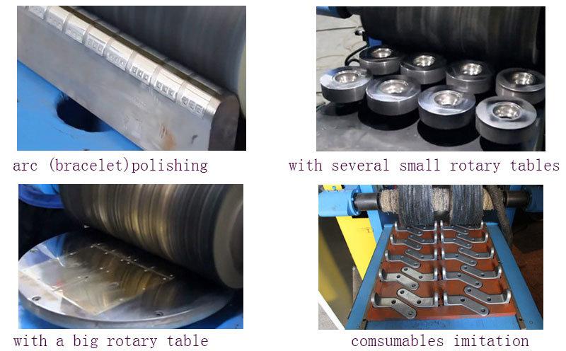 Automatic Metal Polishing Machine for Flat Sheet