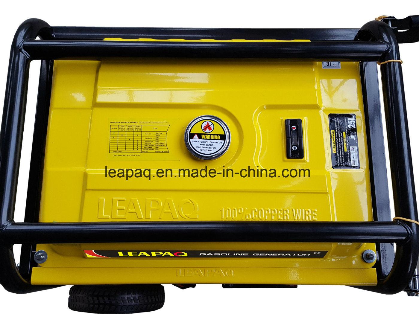 5.0 Kw Wheels & handle Portable Gasoline Generator