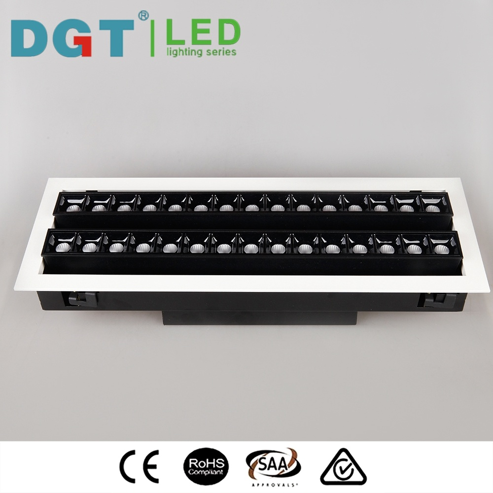 Durable Adjustable Light 60W COB LED Spotlight 3 Years Warranty