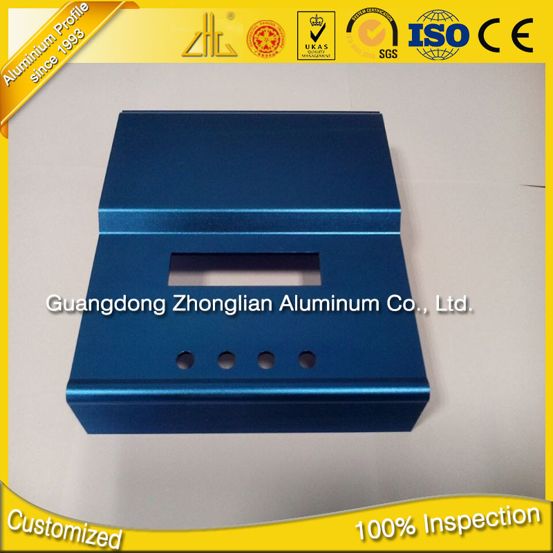 6000 Series CNC Aluminium Extrusion CNC Machining Part Manufacturers