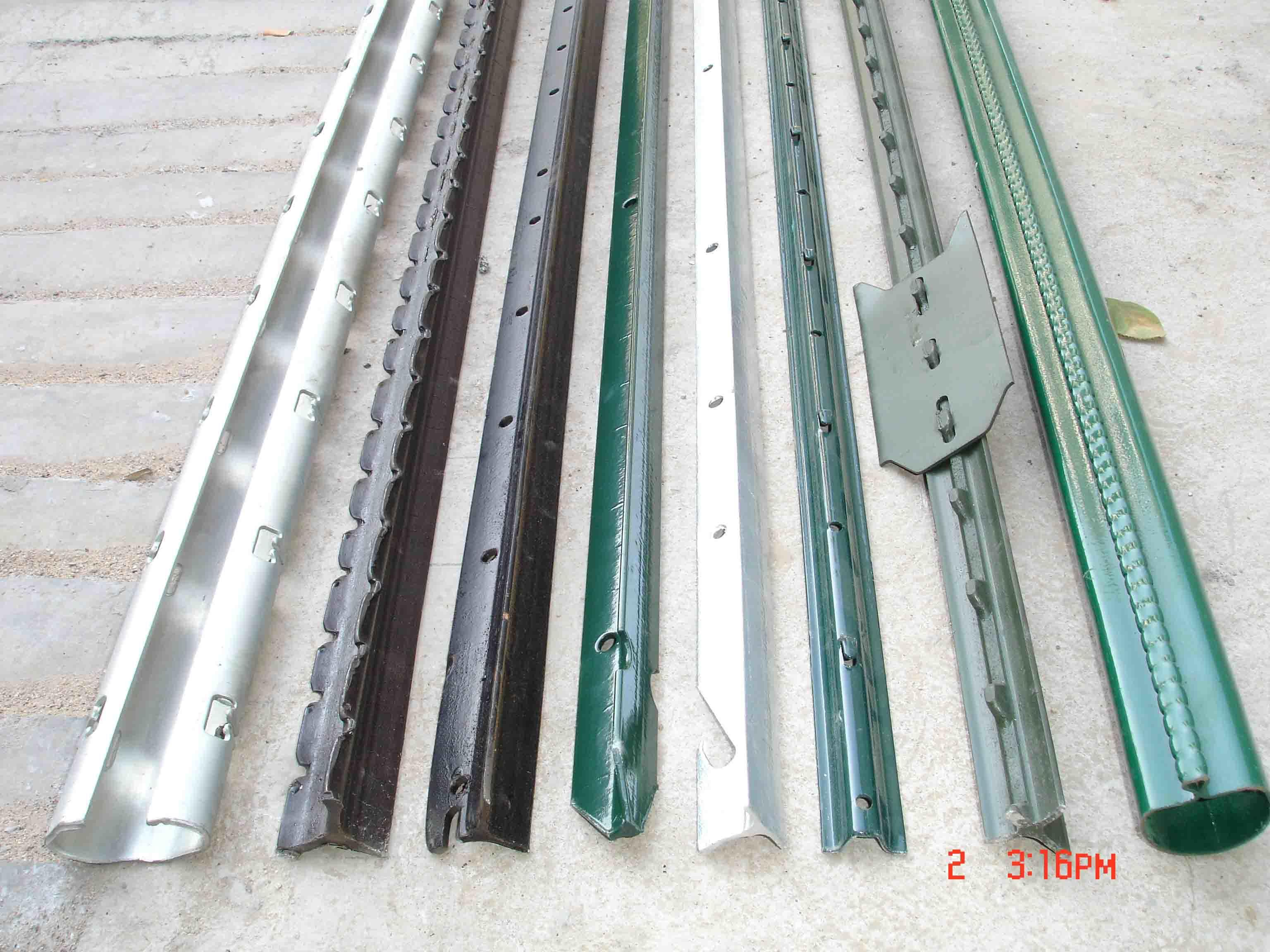 Metal Fence Posts : Steel fence posts for sale fencing manufacturers