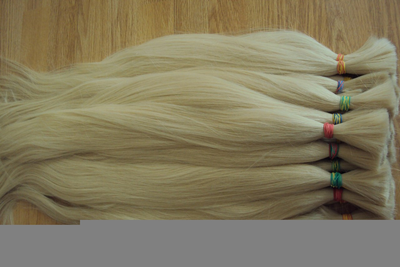 New Most Blonde Color Human Hair Bulk/Weaving14--26""
