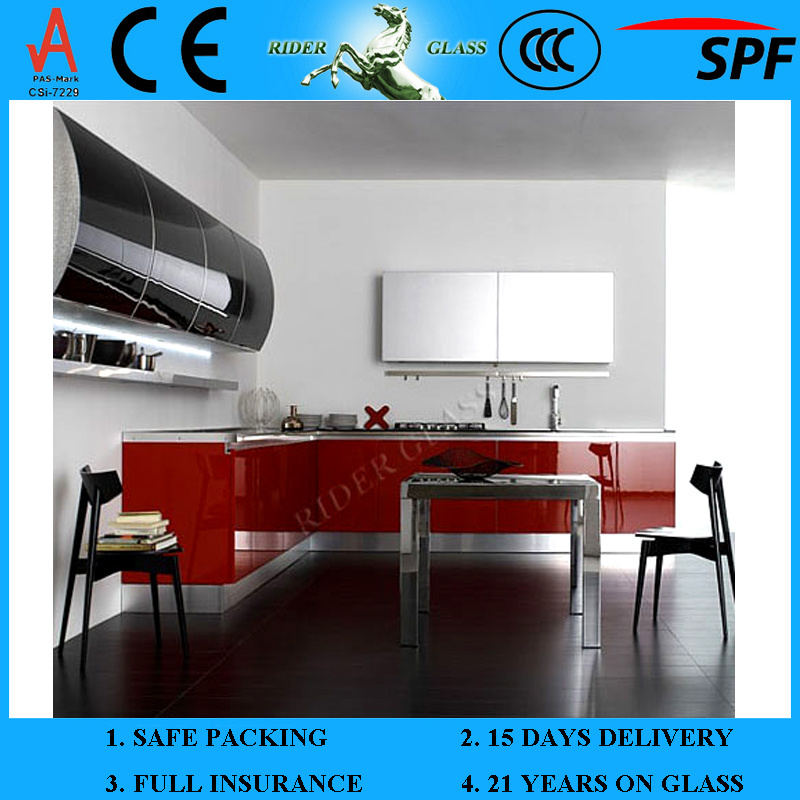 3-6mm Painted Spandrel Ceramic Lacquered Glass