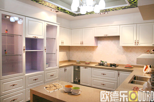 China MDF Kitchen Cabinet ODR K004 China Kitchen Cabinet Cupboard