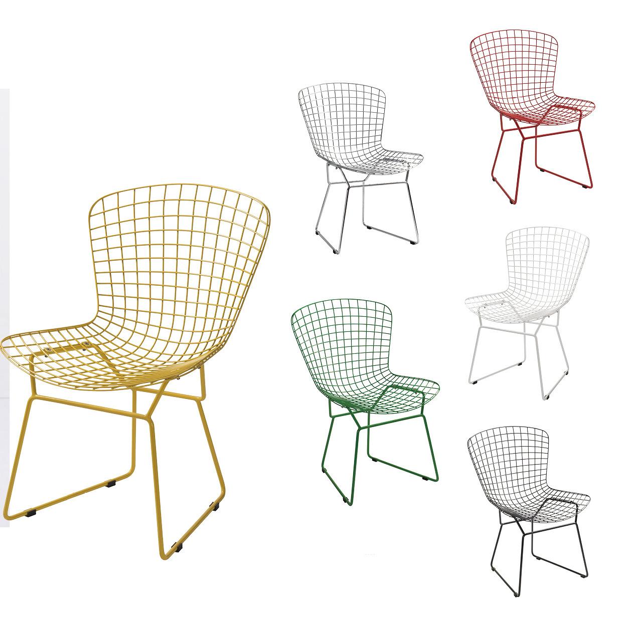 Wire Bertoia Side Chair