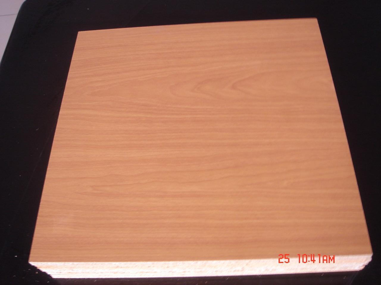 White Laminated Particle Board ~ China raw mdf plain memamine wood board laminated